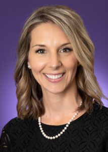 A headshot of Kristen Carr, associate professor of communication studies at TCU.