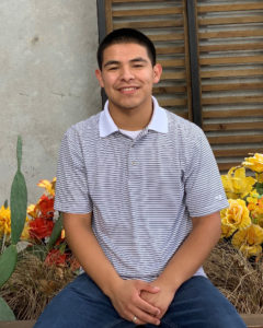 A photo of Cristian Argueta Soto, a journalism major at TCU.