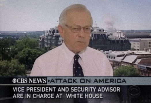 Bob on CBS News speaking about the 2001 terrorist attacks